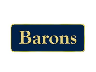 Barons logo.