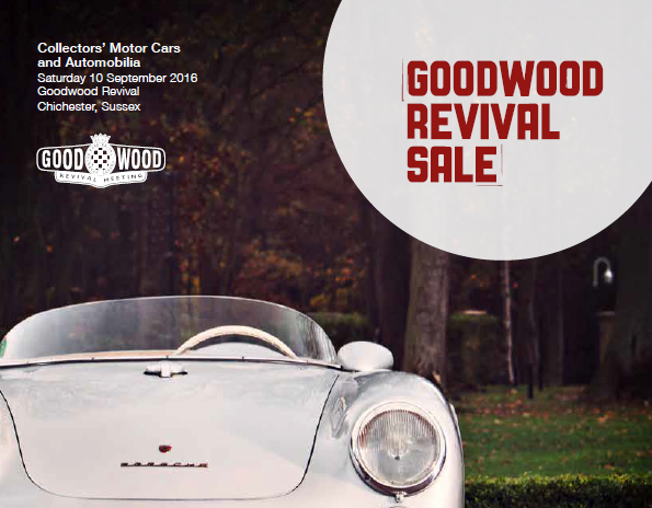 Bonhams Goodwood Revival Sale 2016 catalogue