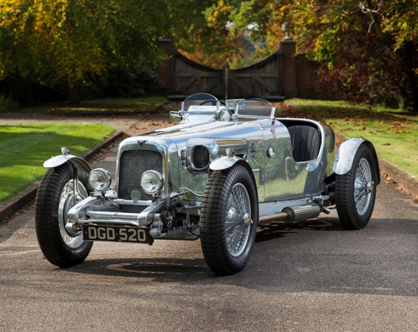 This Alvis special sold twice at auction this year - and appreciated by 40%
