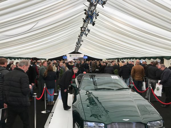 Classic car auction finance at Historics at Brooklands March 4th 2017