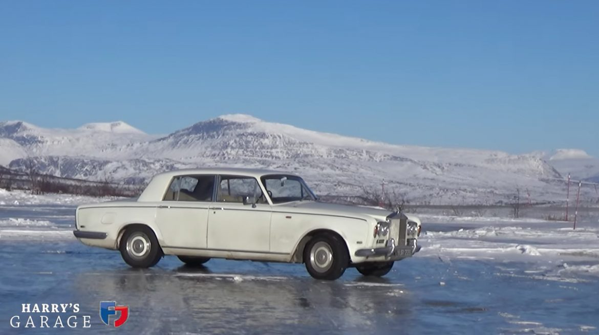 Rolls Royce to the Artic