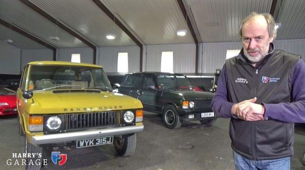 Range Rover 1971 vs 1993