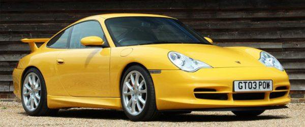 Porsche 996 GT3 values.