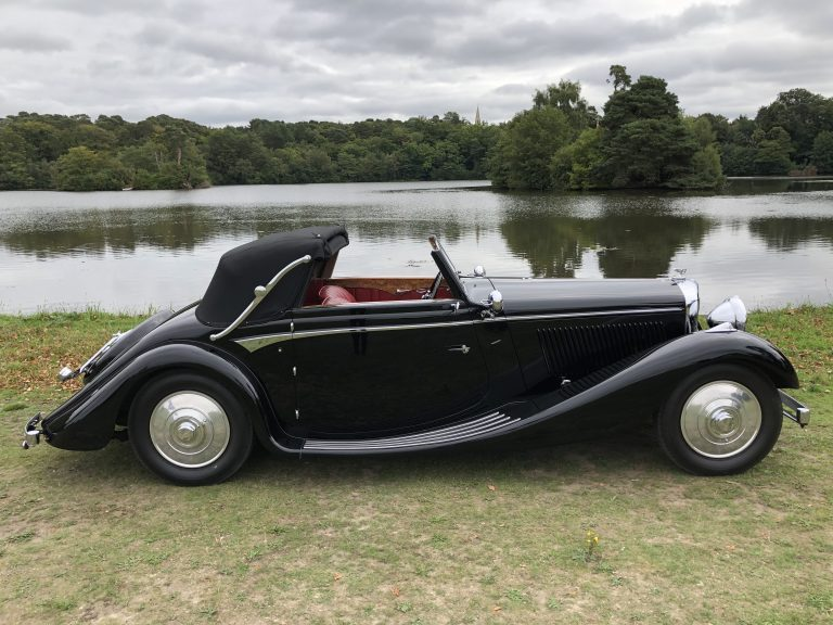 1936 Bentley 4 1/4 Litre Three Position Drophead Coupe by Veth & Zoon