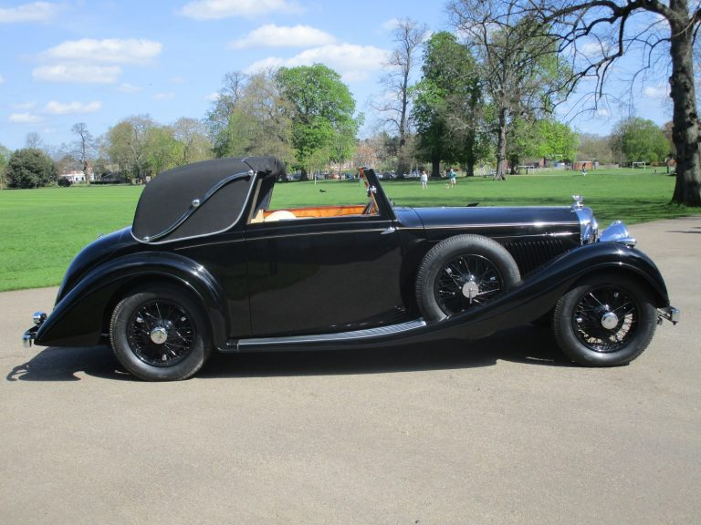 1938 Bentley 4 1/4 Litre Sedanca Coupe by Gurney Nutting