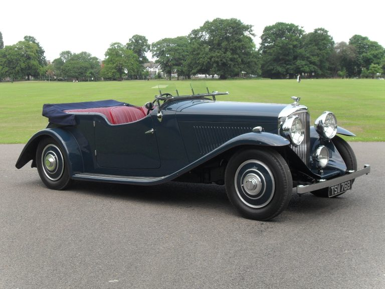1936 Bentley 4 1/4 Litre Open Tourer by Corsica