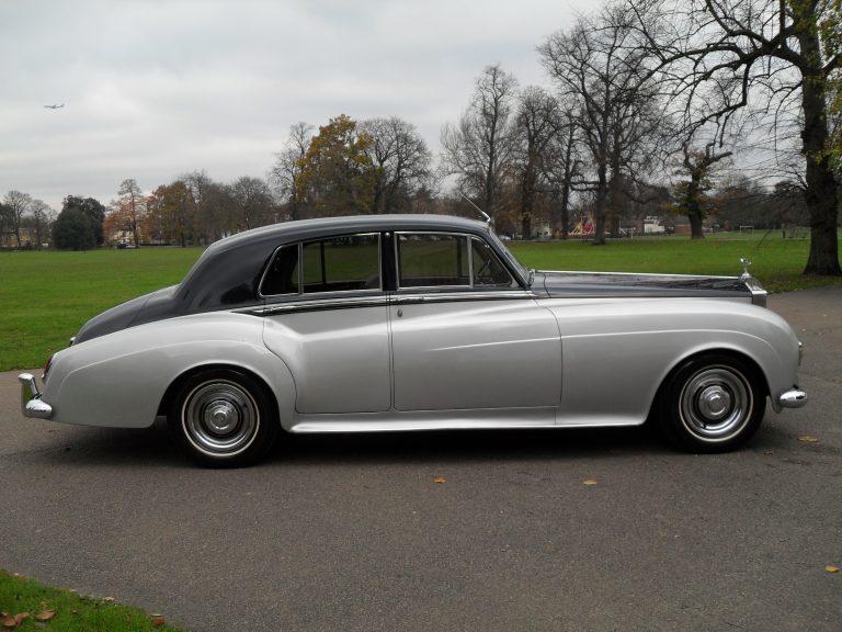 1961 Rolls-Royce Silver Cloud II Standard Steel Saloon (Left Hand Drive)