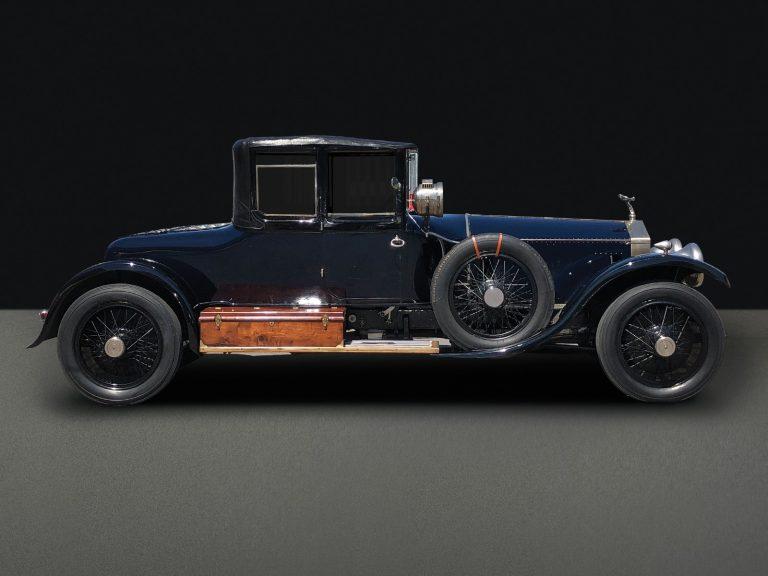 1923 Rolls-Royce Silver Ghost Three Quarter Cabriolet by Barker