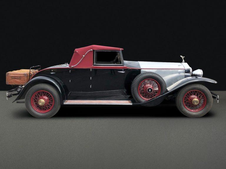 1930 Rolls-Royce Springfield Phantom I Regent Drophead Coupe by Brewster
