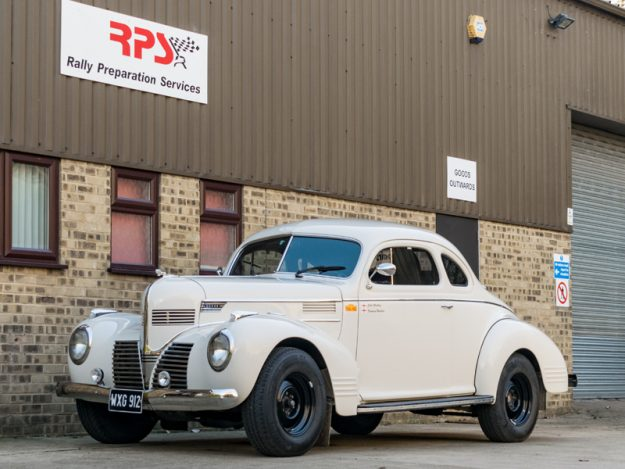 1939 Vintage Car For Sale |  Dodge Coupe Long Distance Rally Car | Price £115,000