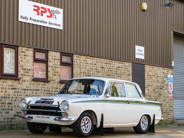 1966 Classic Car For Sale |  Lotus Cortina Classic Rally Car | Price £60,000