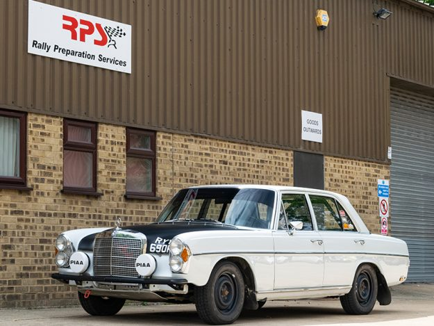 1971 Classic Car For Sale |  Mercedes Benz 280S Classic Rally Car | Price £66,000