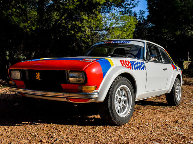 1973 Classic Car For Sale |  Peugeot 504 Wide-Bodied Coupe Rally Car | Price £79,000