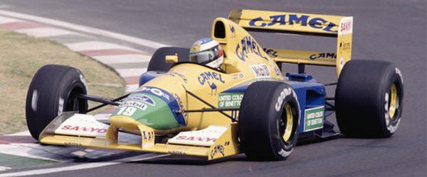 Buying a Formula 1 car.